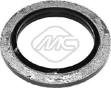 Metalcaucho 39208 - Уплотнительное кольцо, резьбовая пробка маслосливн. отверст. autodif.ru