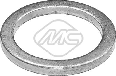 Metalcaucho 39207 - Уплотнительное кольцо, резьбовая пробка маслосливн. отверст. autodif.ru