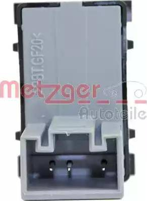 Metzger 0916373 - Выключатель, стеклолодъемник autodif.ru