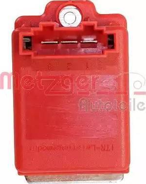Metzger 0917019 - Блок управления, отопление / вентиляция autodif.ru