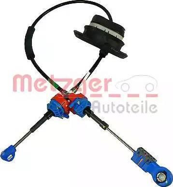 Metzger 3150015 - Трос, автоматическая коробка передач autodif.ru