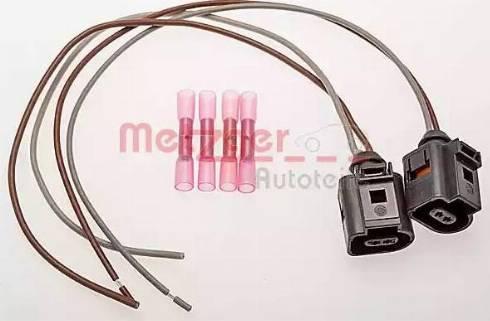 Metzger 2323021 - Ремонтный комплект кабеля, фонарь освещения номерного знака autodif.ru