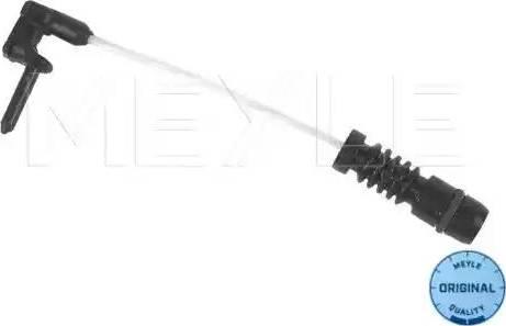 Meyle 0140540001 - Сигнализатор, износ тормозных колодок autodif.ru