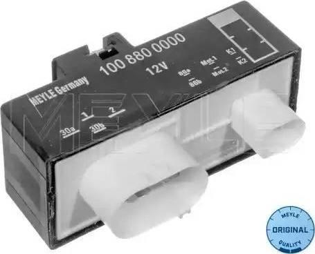 Meyle 100 880 0000 - Блок управления, эл. вентилятор (охлаждение двигателя) autodif.ru