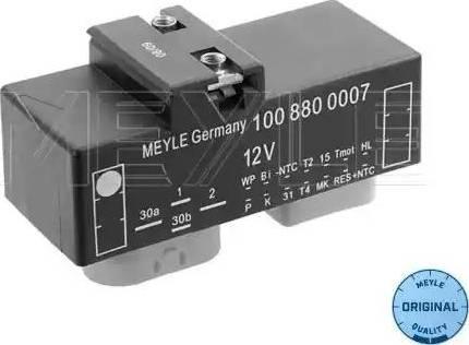 Meyle 1008800007 - Блок управления, эл. вентилятор (охлаждение двигателя) autodif.ru