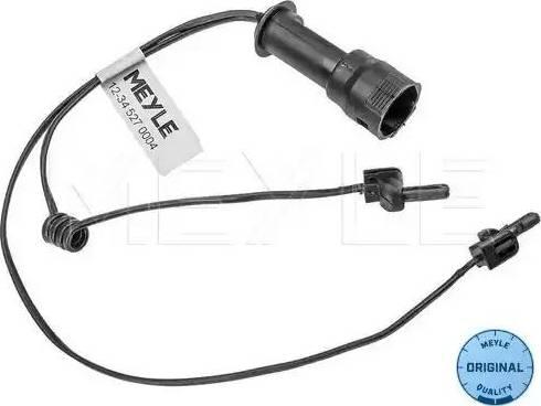 Meyle 12345270004 - Сигнализатор, износ тормозных колодок autodif.ru