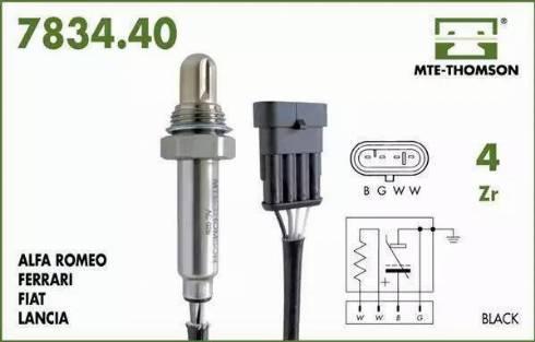 MTE-Thomson 7834.40.083 - Лямбда-зонд autodif.ru