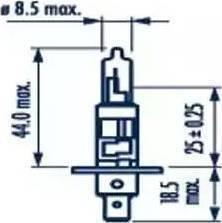 Narva 48320 - Лампа накаливания, фара с авт. системой стабилизации autodif.ru