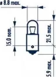 Narva 17131 - Лампа, входное освещение autodif.ru