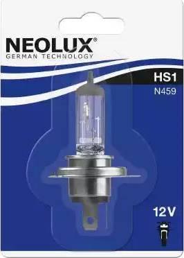 NEOLUX® N45901B - Лампа накаливания, основная фара autodif.ru