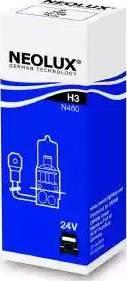 NEOLUX® N460 - Лампа накаливания, противотуманная фара autodif.ru