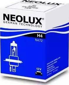 NEOLUX® N472 - Лампа накаливания, противотуманная фара autodif.ru