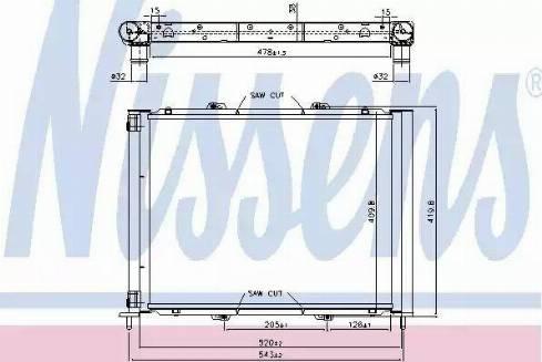 Nissens 637626 - Модуль охлаждения autodif.ru