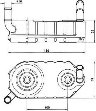 NRF 31004A - Масляный радиатор, автоматическая коробка передач autodif.ru
