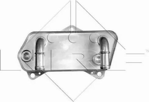 NRF 31188 - Масляный радиатор, автоматическая коробка передач autodif.ru
