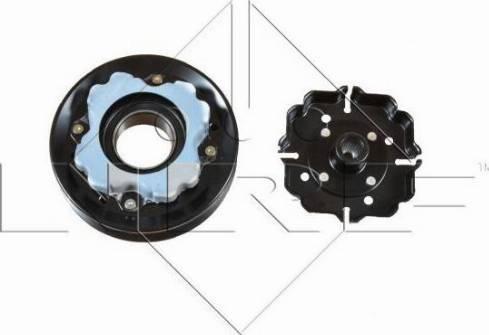 NRF 380036 - Электромагнитное сцепление, компрессор autodif.ru