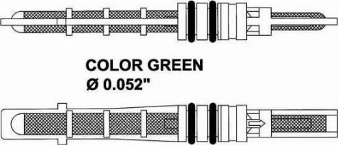 NRF 38353 - Расширительный клапан, кондиционер autodif.ru
