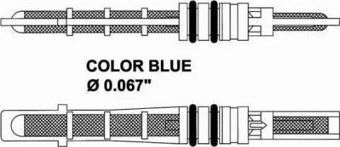 NRF 38207 - Расширительный клапан, кондиционер autodif.ru
