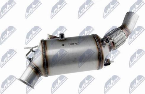 NTY DPF-BM-007 - Сажевый / частичный фильтр, система выхлопа ОГ autodif.ru