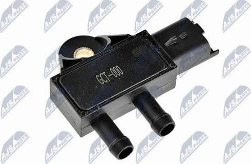 NTY ECS-CT-000 - Датчик, давление выхлопных газов autodif.ru