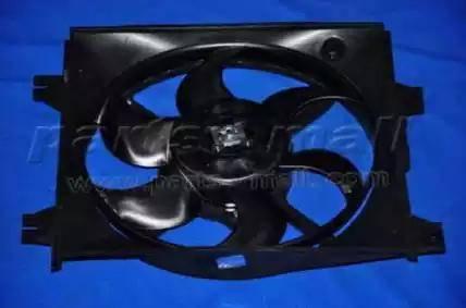 Parts-Mall PXNBA033 - Вентилятор, конденсатор кондиционера autodif.ru