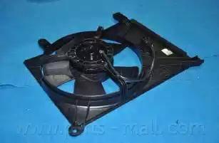 Parts-Mall PXNBC-002 - Вентилятор, конденсатор кондиционера autodif.ru