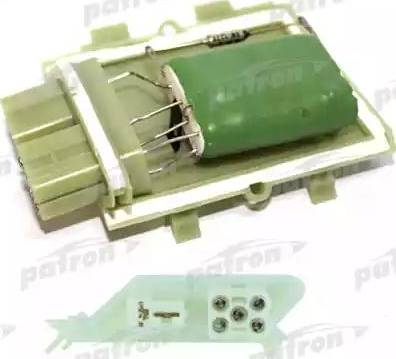 Patron P150045 - Сопротивление, вентилятор салона autodif.ru