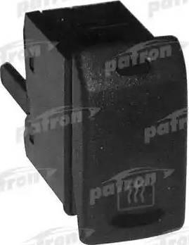 Patron P150016 - Выключатель, обогреватель заднего стекла autodif.ru