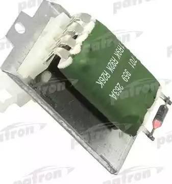 Patron P150013 - Сопротивление, вентилятор салона autodif.ru
