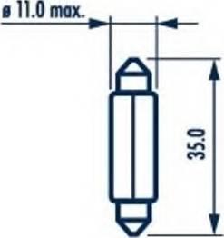 Patron PL3501 - Лампа, входное освещение autodif.ru