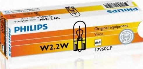 PHILIPS 12960CP - Лампа накаливания, страховочное освещение двери autodif.ru