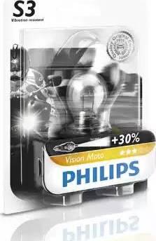 PHILIPS 12008BW - Лампа накаливания, фара дальнего света autodif.ru