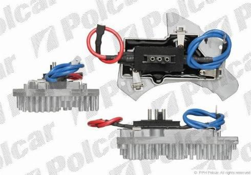 Polcar 5002KST-1 - Блок управления, отопление / вентиляция autodif.ru