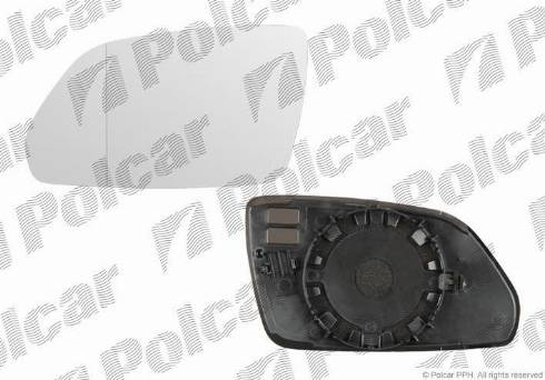 Polcar 6922545M - Наружное зеркало autodif.ru