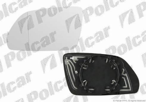Polcar 6922546E - Наружное зеркало autodif.ru