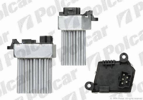 Polcar 2008KST-1 - Блок управления, отопление / вентиляция autodif.ru