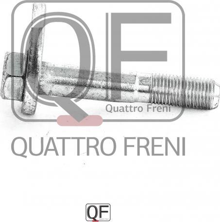 Quattro Freni QF00X00004 - Зажимный болт, несущий / направляющий шарнир autodif.ru