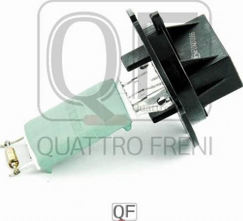 Quattro Freni QF10Q00066 - Сопротивление, вентилятор салона autodif.ru