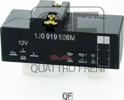 Quattro Freni QF25A00062 - Блок управления, эл. вентилятор (охлаждение двигателя) autodif.ru