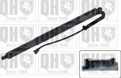 Quinton Hazell QTS728023 - Электромотор, задняя дверь autodif.ru