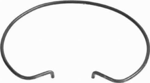 SACHS 3 018 082 100 - Бортовое кольцо, диск сцепления autodif.ru