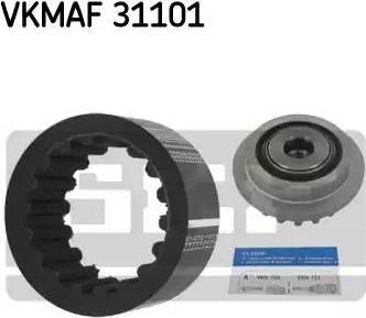 SKF VKMAF31101 - Комплект эластичной муфты сцепления autodif.ru