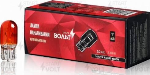StartVOLT VLW309 - Лампа накаливания, фонарь сигнала тормоза/задний габаритный autodif.ru