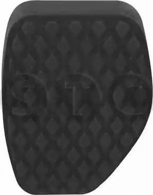 STC T402770 - Педальные накладка, педаль тормоз autodif.ru