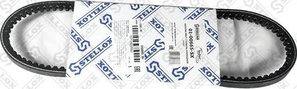 Stellox 01-00665-SX - Поликлиновой ремень autodif.ru