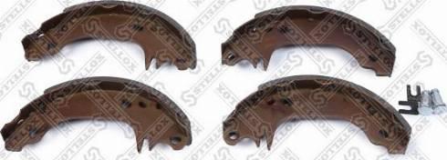 Stellox 141100SX - Комплект тормозных колодок autodif.ru
