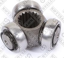 Stellox 1654512SX - Муфта с шипами, приводной вал autodif.ru