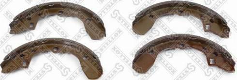 Stellox 165100SX - Комплект тормозных колодок autodif.ru