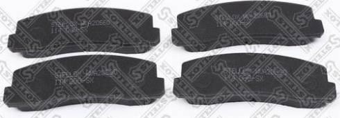 Stellox 114 000-SX - Комплект тормозных колодок, дисковый тормоз autodif.ru