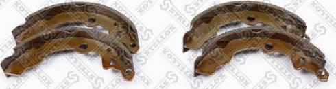 Stellox 175100SX - Комплект тормозных колодок autodif.ru